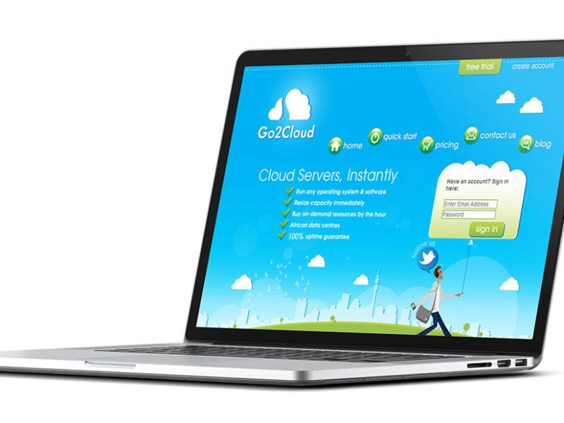 Go 2 Cloud Website Design