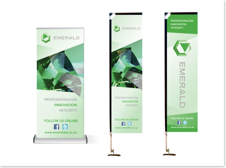 Emerald Risk Transfer Banner design